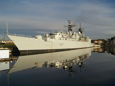HMS Chatham Type 22 Frigate basin No 2 Chatham Maritime [shared]