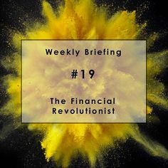 Have a read of our latest Weekly Briefing #19:  SoFi: the First Bulge Bracket Fintech Firm.  A Weekly Briefing on Finance & Innovation  #Fintech #Finance #SoFI #Paribus #wallstreet #insurance #Blockchain #Marijuana #BBVA #AntFinancial #tech Originally posted on 12th March 2016. http://ow.ly/ZmUry