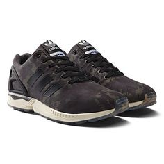 sports shoes 9eea4 45eb7 adidas - ZX Flux Schoenen Night Cargo   Black   Chalk White B32742  Zapatillas Deportivas,