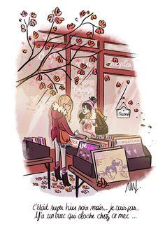 Illustration Parisienne, Illustration Mignonne, Paris Illustration, Cute Illustration, Character Illustration, My Little Paris, Paris Girl, Happy Pictures, Fairy Art