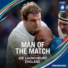 #RBS6Nations Anglaterra [35-15] Itàlia. Twickenham Stadium. Joe Launchbury