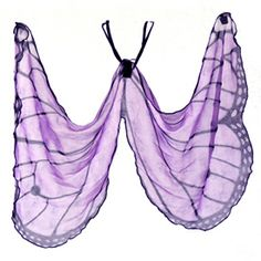 Hand Painted Wings - Butterfly Purple