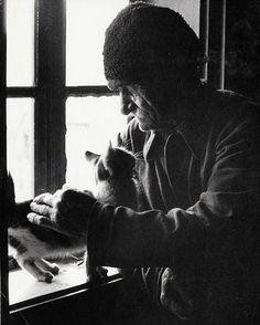 Martin Martinček - Mačka Martina Dutku III. Joy Of Life, Mother Earth, Black And White Photography, Old Photos, Street Photography, Nostalgia, Ale, Creatures, Retro