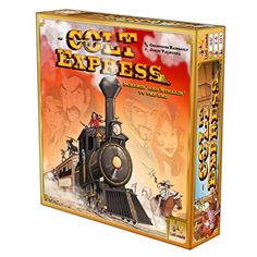 Rob the train & avoid the marshall in the Colt Express boardgame - £21.88 delivered.
