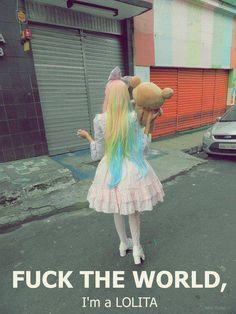 Fuck the world!