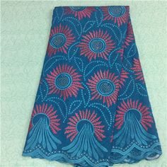African Embroidery Lace Fabric LKLACE3725-7  https://www.lacekingdom.com/      #embroiderylace