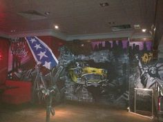 Client: TGI Fridays   Restaurant / interior Graffiti   Graffiti Art and Design