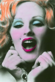 "Andy Warhol star and muse of the Velvet Underground, Candy Darling in ""Beautiful Darling"". She was a beautiful transgender actress."