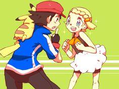 Ash with Bonnie ^.^ ♡