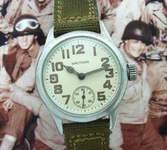 Men's 1942 Waltham Military Ordnance Watch | Strickland Vintage Watches