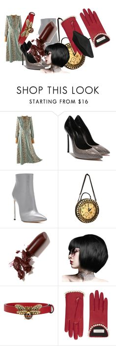 """🌌🌌🌌"" by nataliaart595 ❤ liked on Polyvore featuring Casadei, LAQA & Co., Gucci and M&Co"