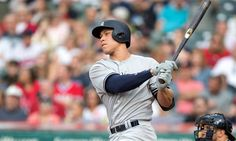 Aaron Judge and JD Martinez named MLB Players of the Month = Aaron Judge of the New York Yankees and J.D. Martinez of the Arizona Diamondbacks have been named Major League Baseball's American League and National League Players of the Month, respectively. The two sluggers, each.....