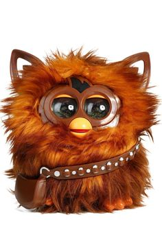 Hasbro is bringing Furby to the world of Star Wars with this Furbacca figure! This fully integrated toy and app makes wookiee sounds like Chewbacca, hums Star Wars theme songs, and plays virtual activities! This Furbacca figure takes kids into a Star Wars themed digital world via their mobile device as they explore the galaxy and collect virtual Star Wars Furby Furblings. The Furbacca companion app is available for download in the App Store and Google Play.     Furbacca Furby by…