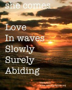 she loves like waves  www.noworkingtitle.org  www.noworkingtitle.org