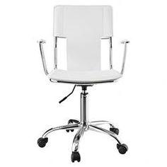 Studio Mid-Back Task Chair in White $89.99
