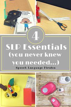 SLP essentials materials