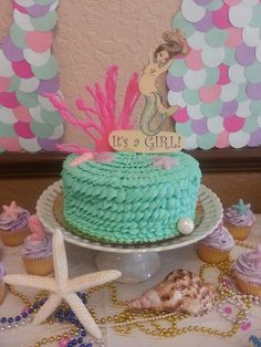 20 amazing mermaid baby shower party ideas to help you make the perfect baby shower theme!