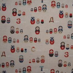 Wanty want wantingtons! What a cute comforter would this fabric make. I would never leave my bed!