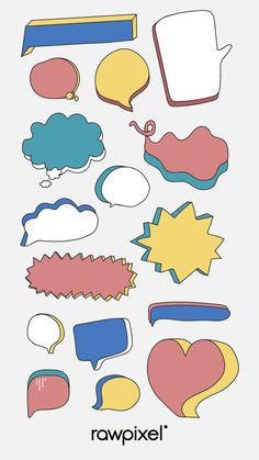 how do html color codes work Journal Stickers, Planner Stickers, Bubble Drawing, Note Doodles, Thought Bubbles, Bullet Journal Ideas Pages, Good Notes, Writing Paper, Note Paper