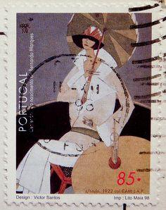 Portugal postage stamp                                                                                                                                                                                 Mais
