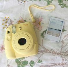 Instax Mini 9, Instax Mini Camera, Fujifilm Instax Mini, Poloroid Camera, Polaroid Instax, Instax 8, Camara Fujifilm, Yellow Aesthetic Pastel, Polaroid Pictures