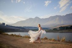 Bride in @willowbywatters Penelope gown   Romantic Farm Wedding by Jani B.   SouthBound Bride