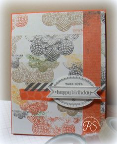 #papercraft #card Stampsnsmiles: This and That Card