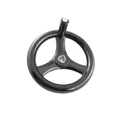 £14.43 cheapest large handle i have found so far 18 x 200mm 3 Spoke Hand Wheel Black for Milling Machine