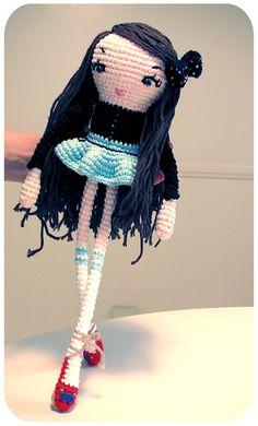 Bow Girl doll... so cute!