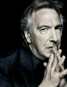 """ALAN RICKMAN. When I'm 80 years old and sitting in my rocking chair, I'll be reading Harry Potter. And my family will say to me, """"After all this time?"""" And I will say, """"Always."""""""