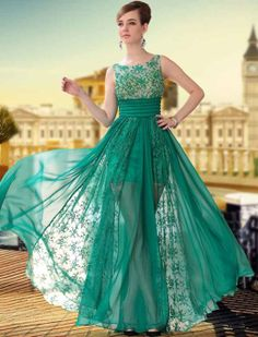 The Formal Shop - - BALL DRESS - GREEN BEAUTY