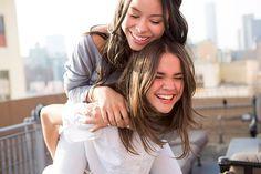 Cierra Ramirez and Maia Mitchell #TheFosters