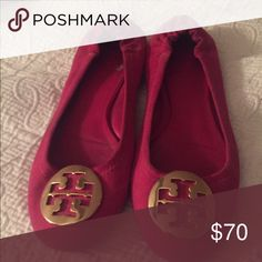Tory Burch flats Hot pink Tory Burch flats size 7 Tory Burch Shoes Flats & Loafers