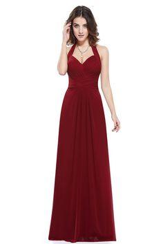 e19a808670 Sapphire Blue Prom Dress A Line Ever Pretty New Arrival Sexy Empire Halter  Long Maxi Sleeveless Long Prom Dresses 2017
