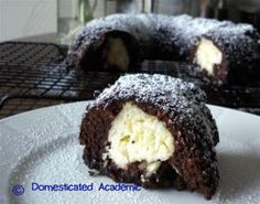 Coconut Filled Brownie Cake   Domesticated Academic
