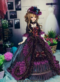 CheeryDoll - BJDoll OutFits, SD,MSD,UNOA,Serendipity,Dresses,Casual,Shoes,Accessories