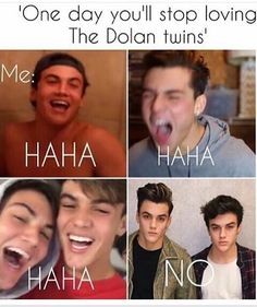 Same I will never stop loving them. Even when I'm married to Ethan;) - @dmdolans