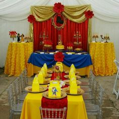 Southern Blue Celebrations: Beauty And The Beast Party Ideas with Beauty And The Beast Party Decorations - Best Home & Party Decoration Ideas Beauty And Beast Birthday, Beauty And The Beast Theme, Beauty And The Best, Beauty Beast, 1st Birthday Parties, Girl Birthday, Birthday Ideas, Snow White Birthday, Disney Princess Party