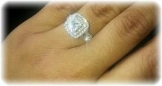 """""""The most beautiful ring with incredible quality diamonds."""""""