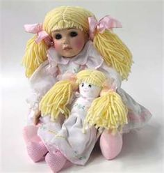 Sunshine and Happiness by Beverly Stoehr for the Marie Osmond doll collection.