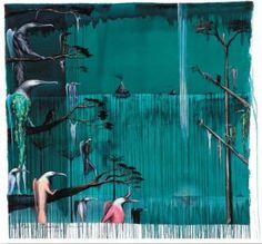 An introduction to Bill Hammond's Fall of Icarus narrated by New Zealand actor Sam Neill. Bill Hammond New Zealander, The Fall of Icarus Purch. New Zealand Art, Nz Art, Kiwiana, Unique Plants, Popular Art, Artist Painting, Bird Art, Contemporary Artists, Great Artists