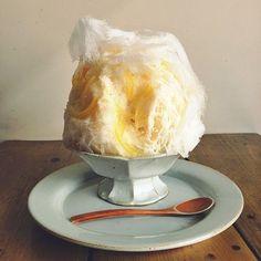 麦酒屋 るぷりん : 天然氷のかき氷 有機レモン