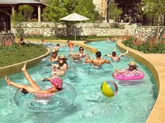 Lazy River, JW Marriott San Antonio.  We'll be there in August of 2013...