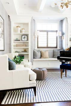 Mountainside remodel piano room    Studio McGee
