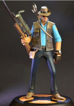 The Sniper - Team Fortress by Khurram Alavi, via Behance