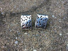 Sterling Silver Earrings, .925 Silver Earrings, Electroforming, Electroform…
