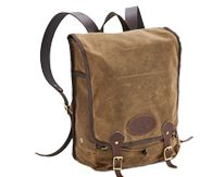 The Frost River Mesabi Range Daypack now with upgraded padded buckskin shoulder straps