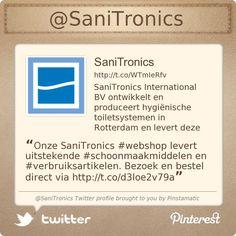 Onze SaniTronics #webshop levert uitstekende #schoonmaakmiddelen en #verbruiksartikelen. Bezoek en bestel direct via http://shop.sanitronics.nl/index.php/