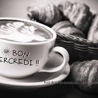 Bon mercredi, Gros bisous - Mercredi image #7041 - BonnesImages Motivation, Tableware, Vintage, Hapy Day, Good Night, Happy Wednesday, Handsome Quotes, Morning Breakfast, Words