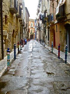 Balconies, Rome, Italy